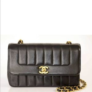 Chanel mademoiselle in great condition 24K gold
